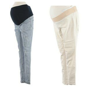 TWO Maternity Jeggings Size Small